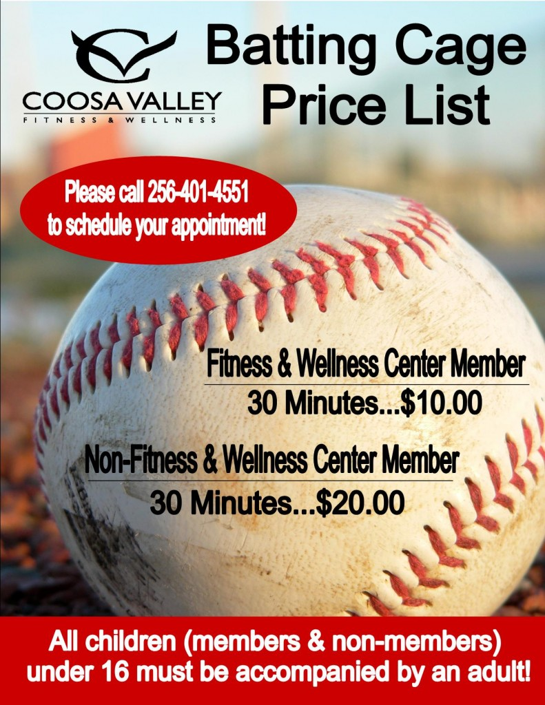 Batting Cage Price List