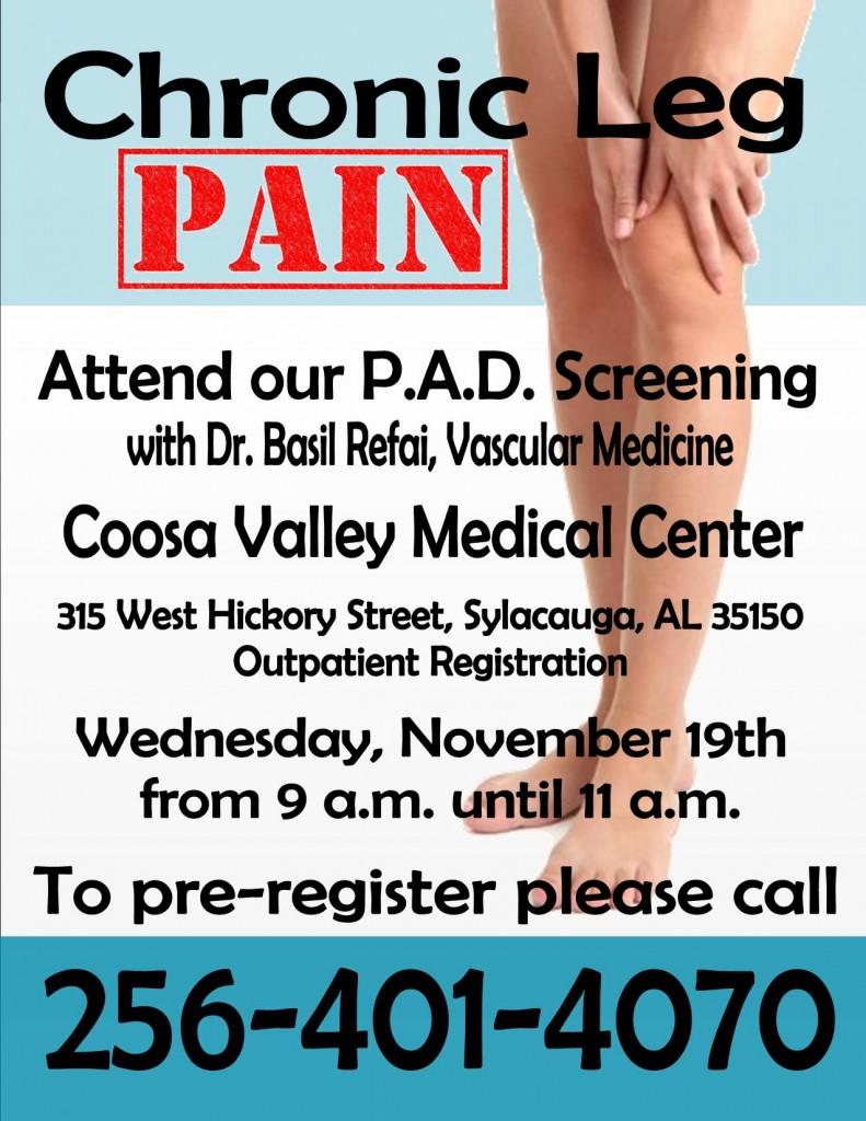 PAD Screening Nov